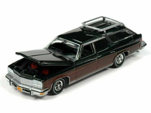 1975 Buick Estate Wagon  Green Woody *RR* Auto World Muscle Wagons 1:64 NEU+OVP