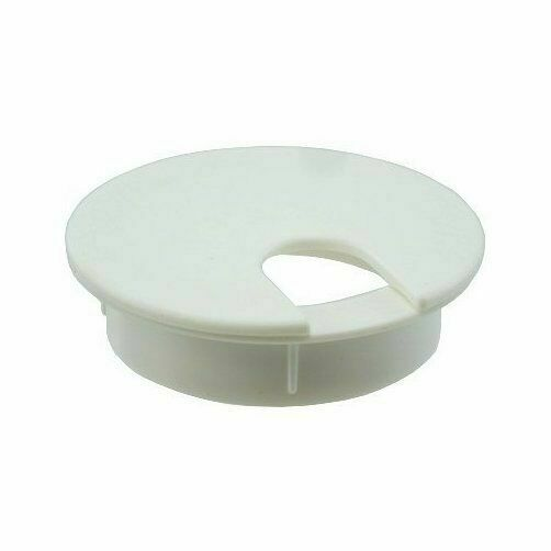 The Hillman Group 59335 2-1//2-Inch White Grommet with Cap 2-Pack