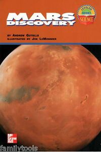 MCGRAW HILL SCIENCE 3RD GRADE 3 READER Planet Mars FACTS ...