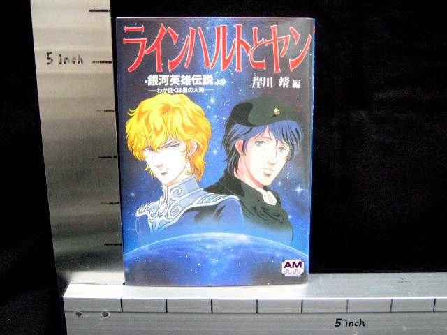 Lienhart & Yanne Legend Of Galáctica Héroe Libro Art Material Fanbook Japón