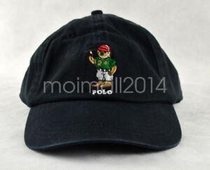 Polo Green Teddy Bear Logo Hat Men s Cap Baseball Caps Golf Leisure ... b91fad41e7e