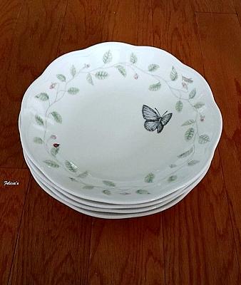 LENOX Butterfly Meadow Scalloped Edge Soup//Pasta Bowl 6/'/' x 2/'/'
