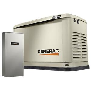 Generac 7037 - 16kW A/C Home Standby Generator w/ WiFi...