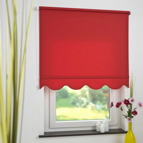 Side Pull Roller Blind Chain Pull Flounce Blind Jalousie Classical Door Curtain Valance Blind