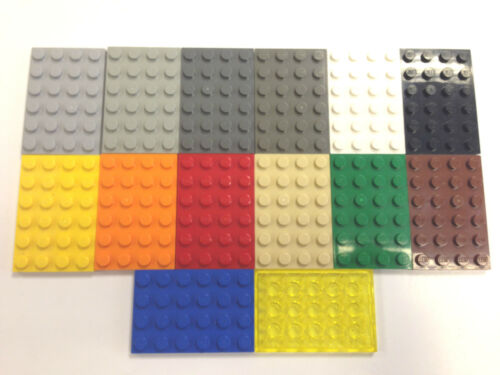 LEGO 3032 4X6 Plate Select Colour Pack Size FREE P/&P!