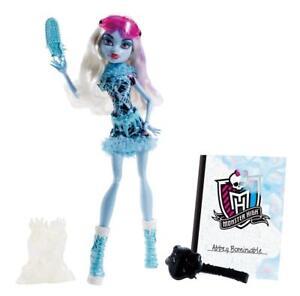 Mattel-Monster-High-Abbey-Bominable-KUNSTUNTERRICHT-Art-Class-BDF13-OVP