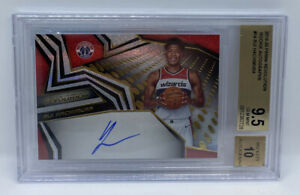 2019-20 Revolution Rookie On Card AUTO Rui Hachimura BGS 9.5 GEM MINT AUTO 10
