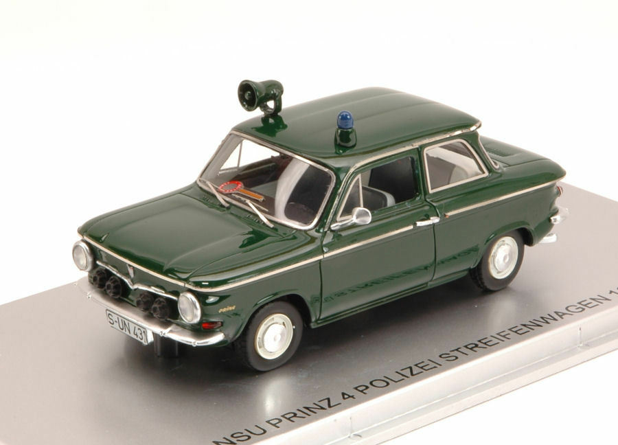 NSU Prinz 4 Polizei Streifenwagen 1964 Limited Edition 156 pcs 1 43 Model