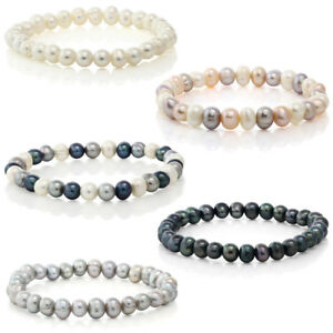 Set-Of-5-Multicolor-Cultured-Freshwater-Pearl-Stretch-Bracelets-7-5-034
