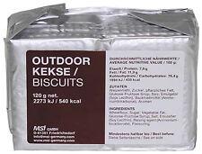 18 Outdoor Kekse Survivalnahrung Notration Notverpflegung 120g 5er Pack (600g)