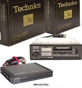 Technics 80s 90s Vintage Car Audio Radio with Amp