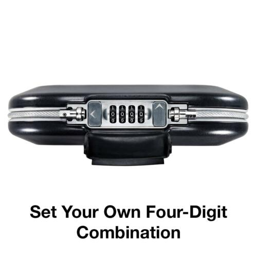 Master Lock small personal safe protection Set your own safe mobile combination