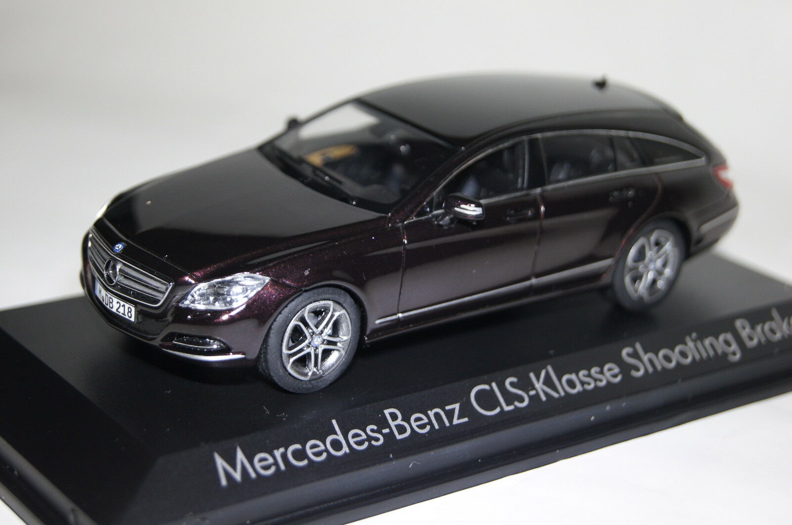Mercedes CLS Shooting Brake 2012 braun Metallic 1 43 NOREV NEW + OVP 351310