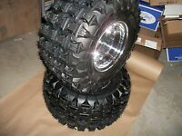 (2) Tire Wheel Rim 6 Ply Rear 20x11-9 Yamaha Blaster 200 Tri Z Ytm Tusk Voltage