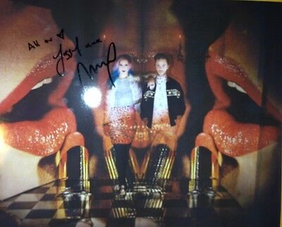 Earnest Rare Ms Mr Max Hershenow Lizzy Plapinger Signed 8x10 Photo W/exact Proof W/coa Rock & Pop Autographs-original