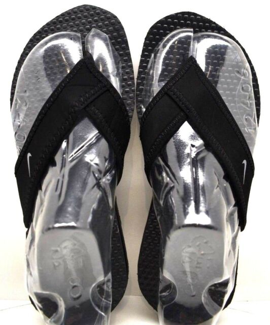 543d61220f92 Boy s Youth Nike Celso Black Flip Flops Thongs Casual Sandals Shoes ...