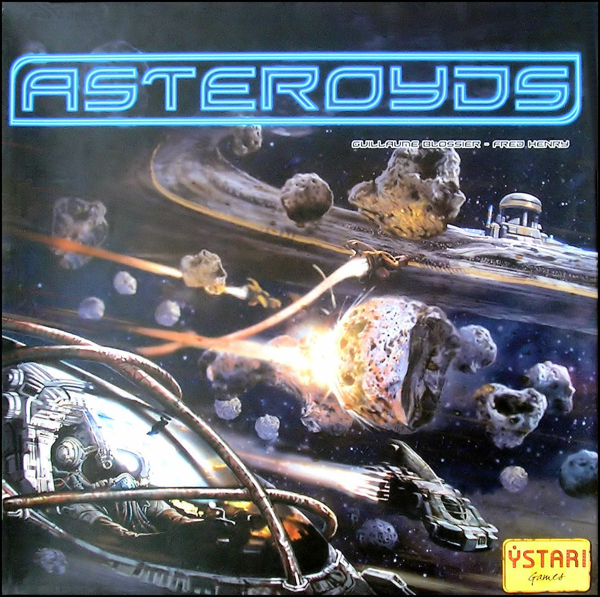 Jeu de société Asteroyds - Ystari - Neuf, emballé - - - 8da020