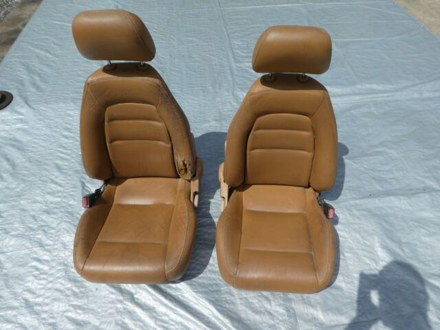 95 M edition MAZDA MX-5 MIATA OEM SEATS SEAT SET TAN LEATHER LEFT AND RIGHT
