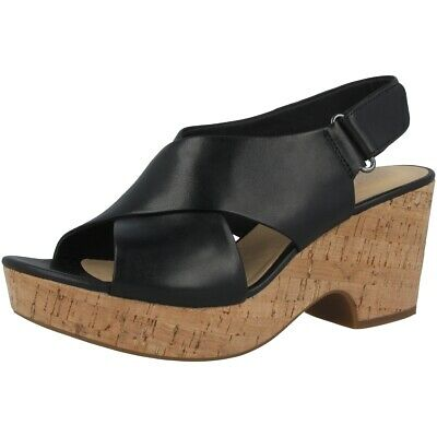 Clarks Maritsa Lara Women Sandalo Da Donna Tempo Libero Sandali Black 26141394-mostra Il Titolo Originale
