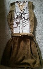 AXES FEMME Brown Steampunk Vintage Classic Lolita Kawaii Japanese dress