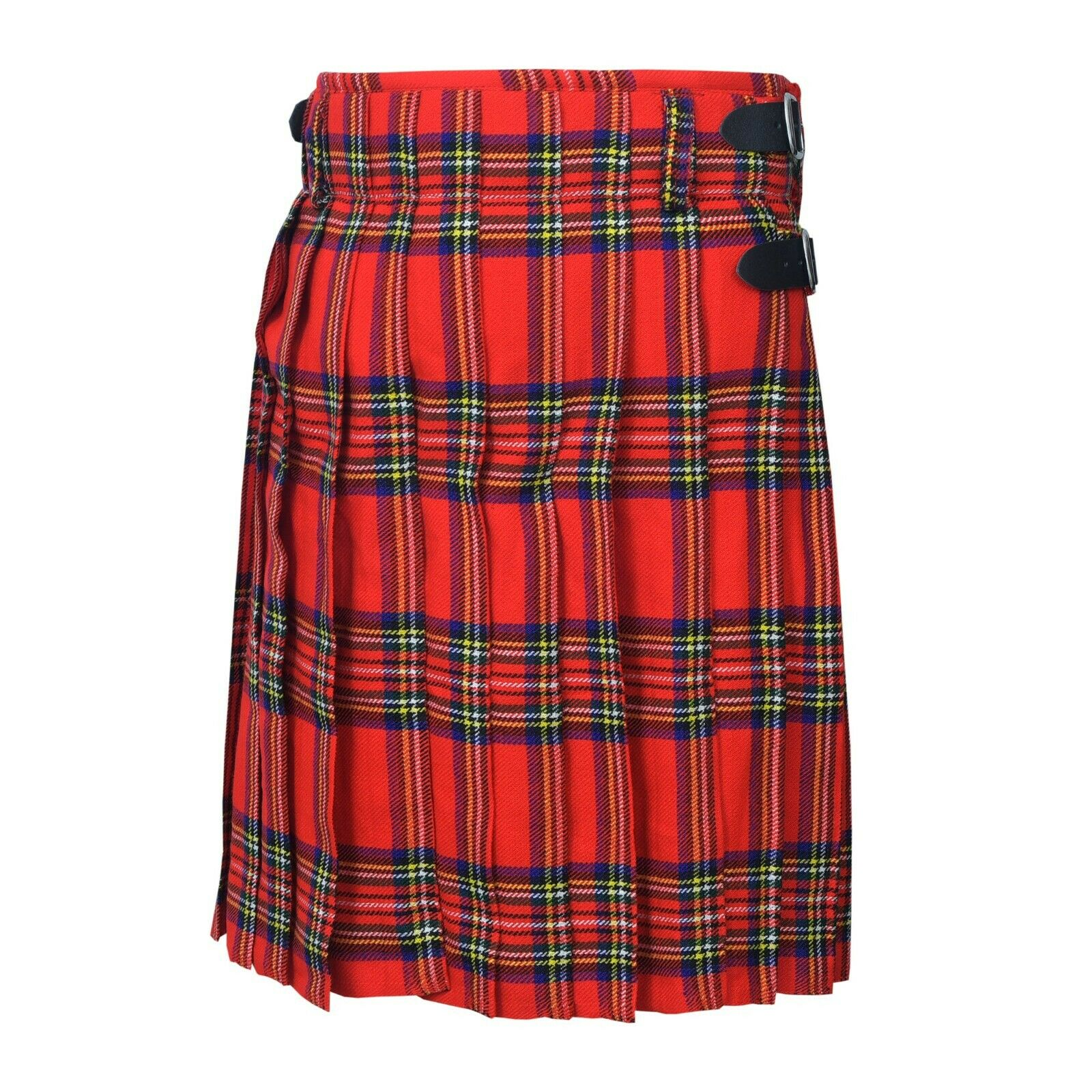 5 Yard Men's Scottish Kilts Royal Stewart Scottish Kilt 13oz Casual Tartan UK