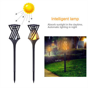 96-LED-Solar-Torch-Light-Flickering-Lighting-Dancing-Flame-Outdoor-Garden-Lamp