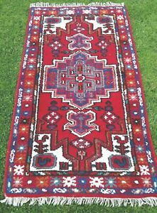 WOOL PERSIAN ORIENTAL hand knotted RUG