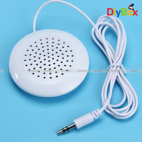 3.5mm USB Mini Pilllow Speaker  Music Laptop Multimedia for PC Computer MP4 iPod