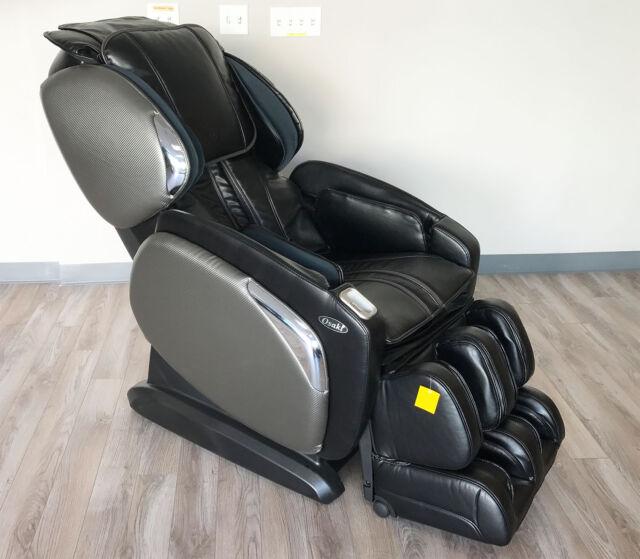 Osaki OS 4000CS Zero Gravity L Track Space Saving Massage Chair Heated  Recliner