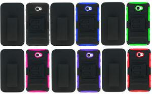 separation shoes 80e54 cc403 Details about Clip + Hybrid Case Cover For Alcatel ZIP LTE A577VL A576BL /  Alcatel Kora A576CC