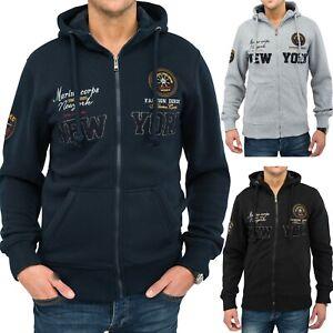 Mens-Sweatshirt-Tinton-Hoodie-veste-sweat-veste-a-capuche-veste-de-transition