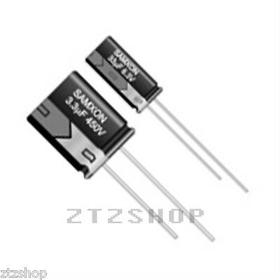 10 x 4.7uF 50V Radial Capacitor Electrolytic 105°C