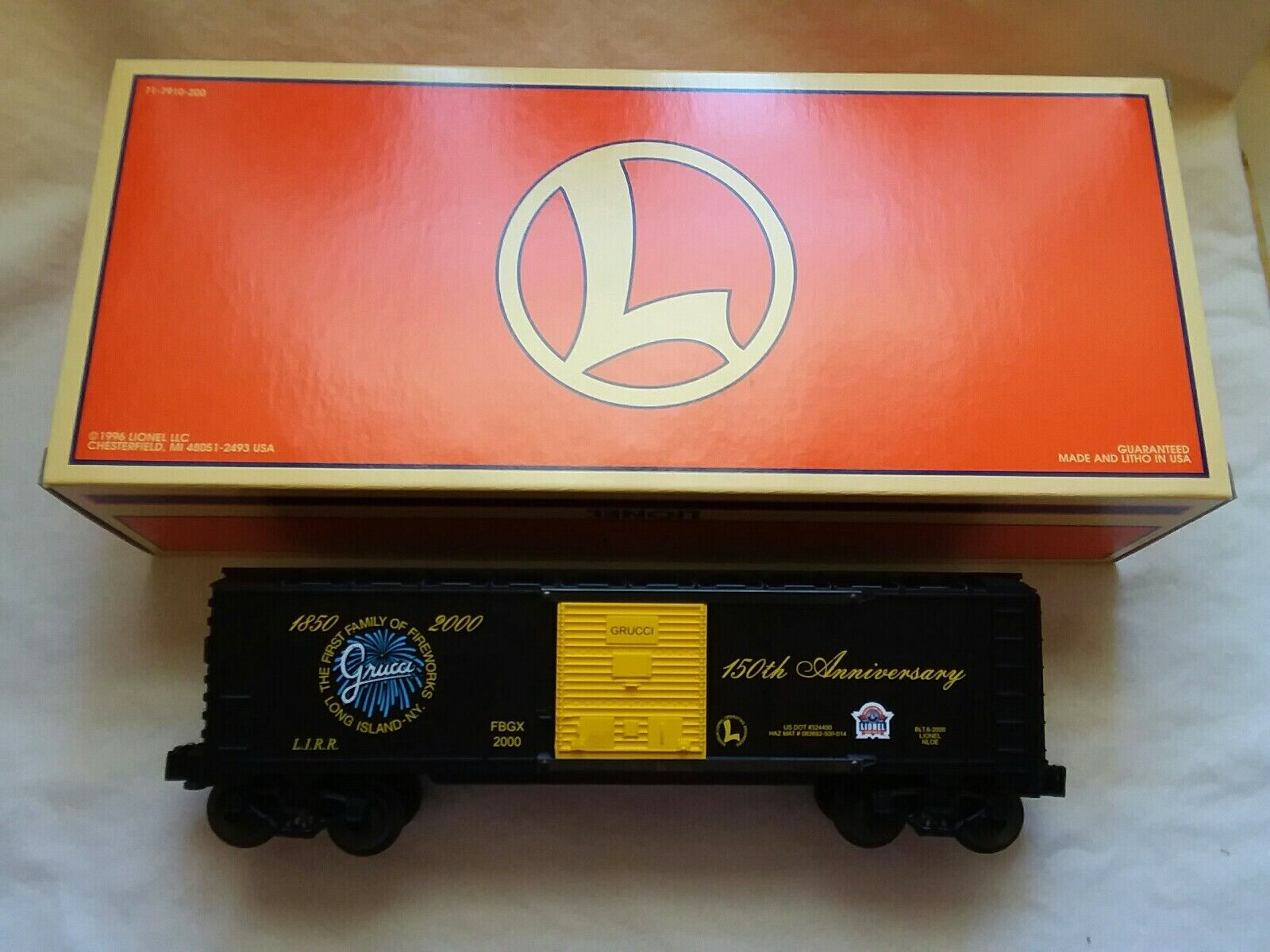 Lionel NLOE  GRUCCI  Fireworks Boxcar