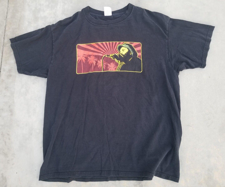 Ragamuffin Hip Hop Vintage 2008 long beach festival  Tee T-Shirt sz XL RARE OBEY