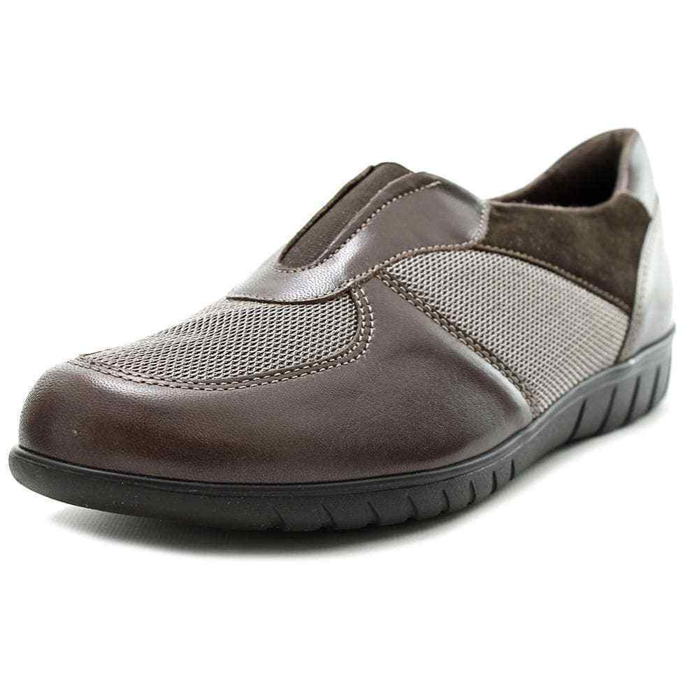 Munro American Olympia Women SS Round Toe Leather Brown Loafer 1657 Size 8 SS