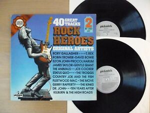 Various-Rock-Heroes-2x-LP-Vinyl-UK-039-78-vg