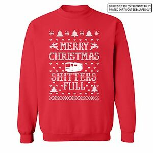 image is loading sh tters full ugly christmas vacation sweater funny - Griswold Ugly Christmas Sweater