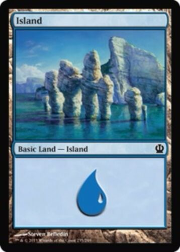 Basic Land Your Choice of Art MP to SP 20x Island Theros