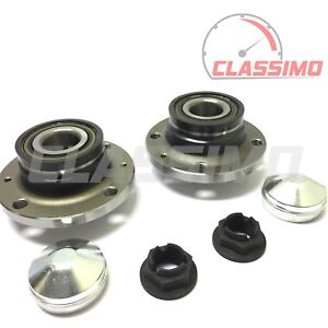 Vauxhall Corsa D Hatchback 2006-2011 Rear Wheel Bearing Hub With Rear Drums ABS