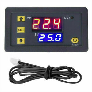 220 red and Blue Display Durable W3230 Thermostat for Industrial Use Switch Sensor Meter Digital Thermostat