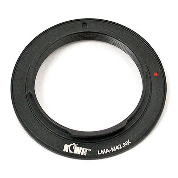 Adapter Mount Ring M42 Lens to Camera Photo Nikon DSLR Body