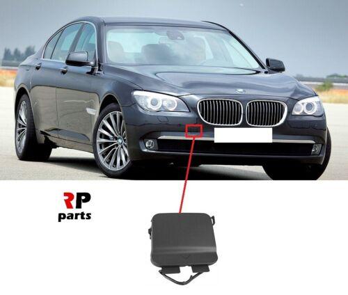 Per BMW 7 Series F01//F02 09-13 Nuovo gancio traino paraurti anteriore Eye Cover Cap innescato