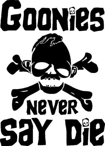 Goonies Never Say Die Sticker CHUNK SLOTH TREASURE HUNT MOVIE PIRATES CROOKS