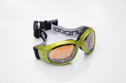 Sundog 84003 dog pound double lentille lunettes de ski-vert//ambre