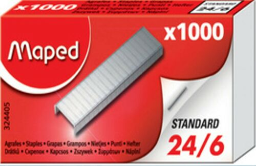 1000-50.000 MAPED Heftklammern Gr 24//6 Tacker Klammern Tacker Nadeln