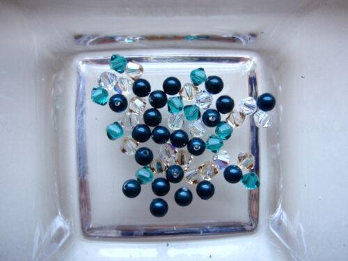 CRYSTAL PEARLS 4 mm kreativmix 10 50 Swarovski ® Perles Bicone