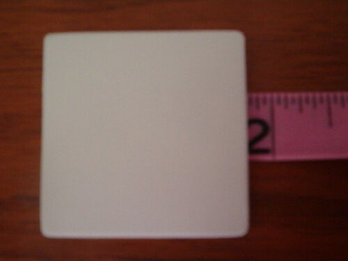10 SQUARE 1 3//4 in CERAMIC BISQUE READY TO PAINT PIECES