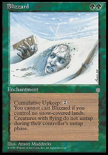 Ice Age  #227 ENGLISH Magic MTG Blizzard ▼▲▼ Blizzard