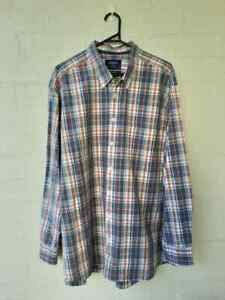 Charles-Tyrwhitt-Weekend-Shirt-Mens-Classic-Fit-Check-XXL-2XL-A3