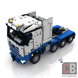 cb eigenbau bauanleitung arocs slt rc truck moc f r lego. Black Bedroom Furniture Sets. Home Design Ideas